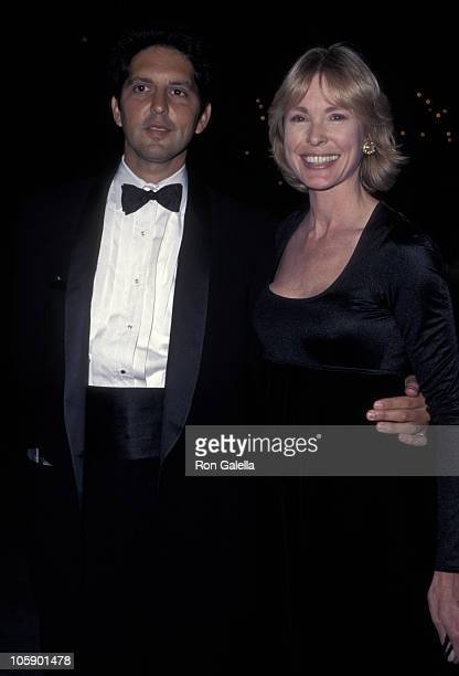 Victoria Tennant and guest during Opening Night at the Los Angeles Opera at Dorothy Chandler Pavillion in Los Angeles California United States