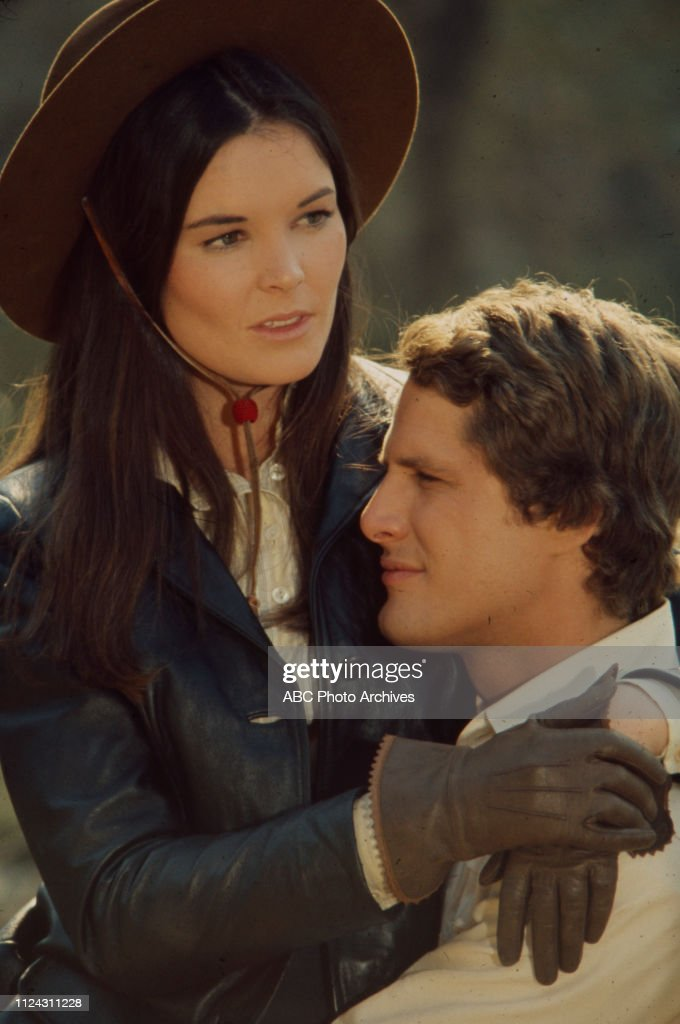 Victoria Thompson, Ben Murphy Appearing In 'Alias Smith And Jones' : News Photo