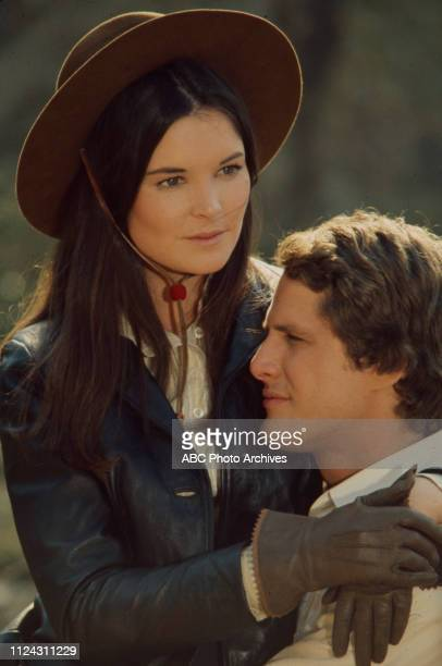 Victoria Thompson Ben Murphy appearing in the Walt Disney Television via Getty Images series 'Alias Smith and Jones' episode 'The Root of It All'