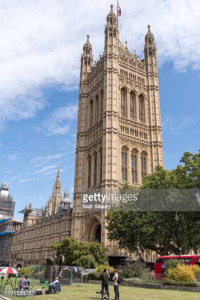 victoria tower at the palace of westminster - city of westminster london stock pictures, royalty-free photos & images