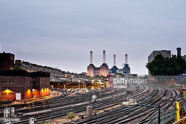 Victoria Train Station in London