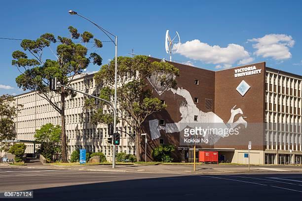 victoria university, melbourne - victoria australia stock pictures, royalty-free photos & images