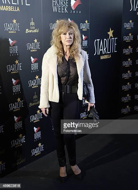 Victoria Vera attends the 'Starlite 2015' presentation at Barcelo Theater on November 26 2014 in Madrid Spain
