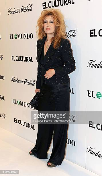 Victoria Vera attends 'ValleInclan Theatre Awards' 2011 at Royal Theatre on April 18 2011 in Madrid Spain