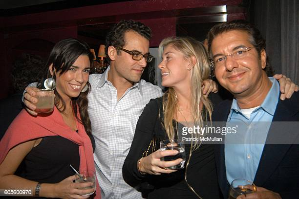 Victoria Villanueva Helena Khazanova and Abell Oujaddou attend Valentine's Day Cocktail Party hosted by Abby Weisman and Robin Navrozov at Serena's...