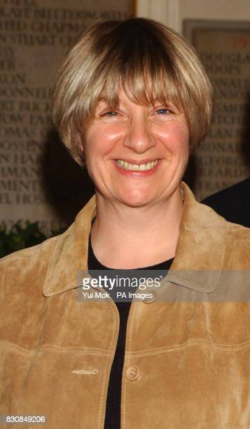Victoria Wood who will give a special performance arriving at a fundraising gala to celebrate the 30th anniversary of the Bush Theatre at the Royal...