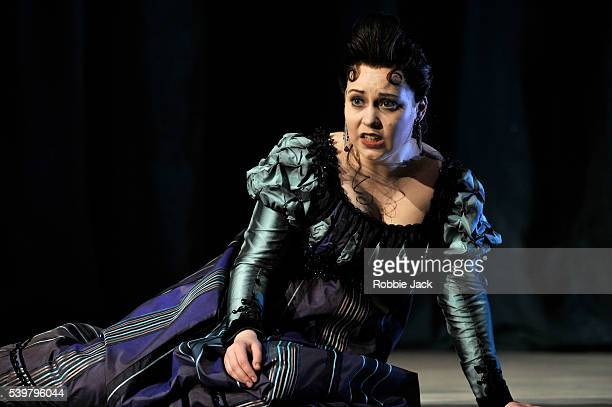 Victoria Yarovaya as Tisbe in Glyndebourne's production of Gioachino Rossini's La Cenerentola directed by Peter Hall and conducted by James Gaffigan...