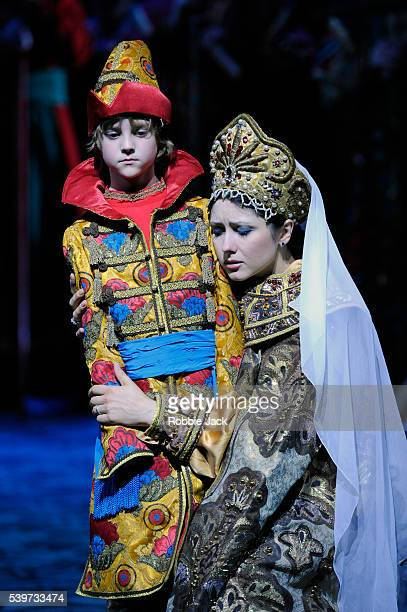 Victoria Yastrebova and Misha Goodman perform in the Mariinsky Opera's production of Nikolai RimskyKorsakov's The Tale of the Tsar Saltan at Sadlers...