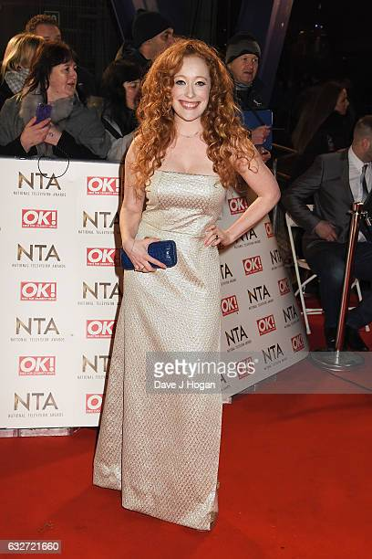 Victoria Yeates attends the National Television Awards at Cineworld 02 Arena on January 25 2017 in London England