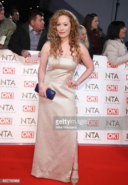 Victoria Yeates attends the National Television Awards at The O2 Arena on January 25 2017 in London England