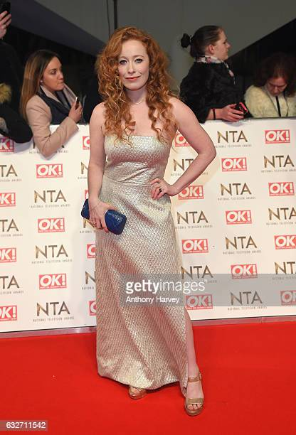 Victoria Yeates attends the National Television Awards on January 25 2017 in London United Kingdom