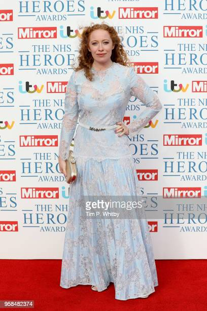 Victoria Yeates attends the 'NHS Heroes Awards' held at the Hilton Park Lane on May 14 2018 in London England
