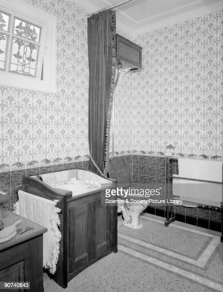 Victorian Bathroom C 1880s Victorian Bathroom Showing