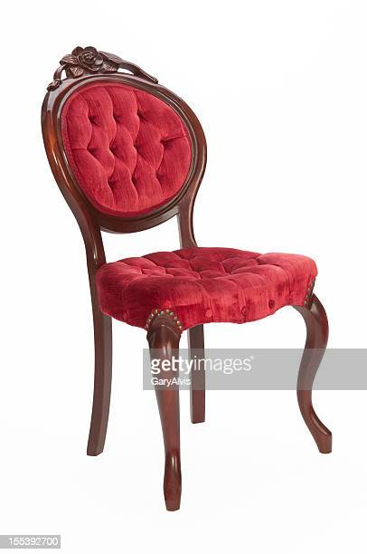 Victorian chair with clipping path