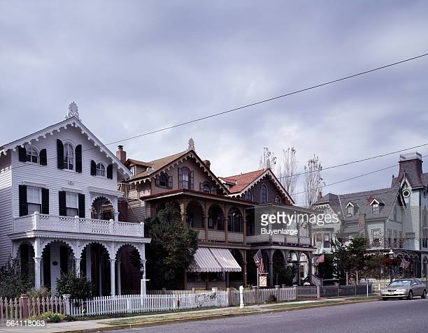 Victorian cottages Cape May New Jersey