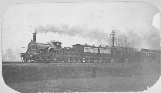 The East Coast Railway Victorian Express locomotive....