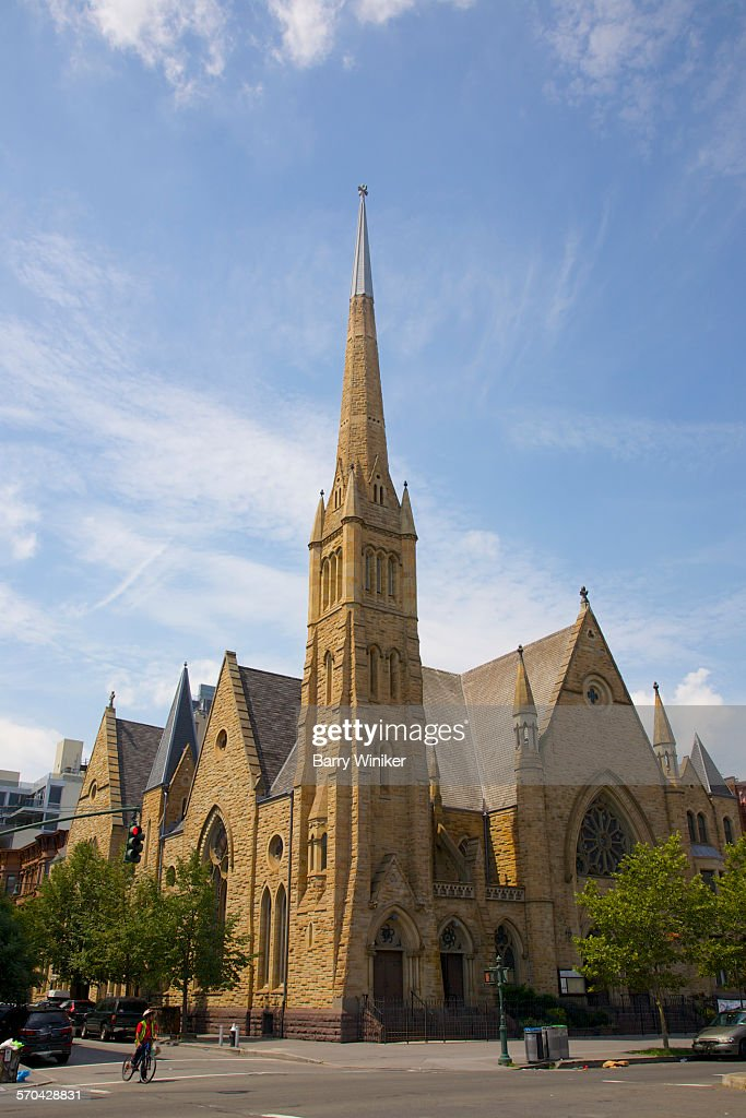 Victorian Gothic Revival Architecture NYC Stock Photo