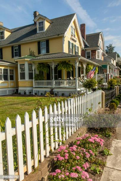 Victorian House and picket fence
