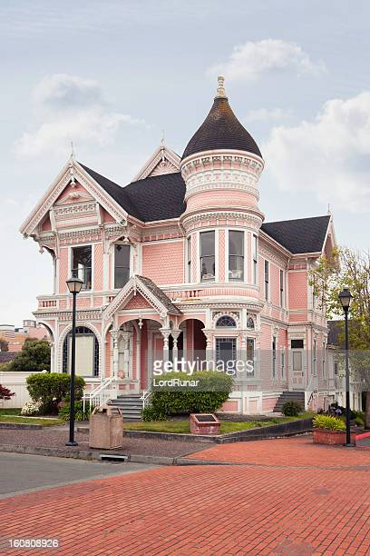 victorian house - victorian style stock pictures, royalty-free photos & images