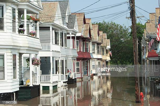 Victorian Houses at High Water