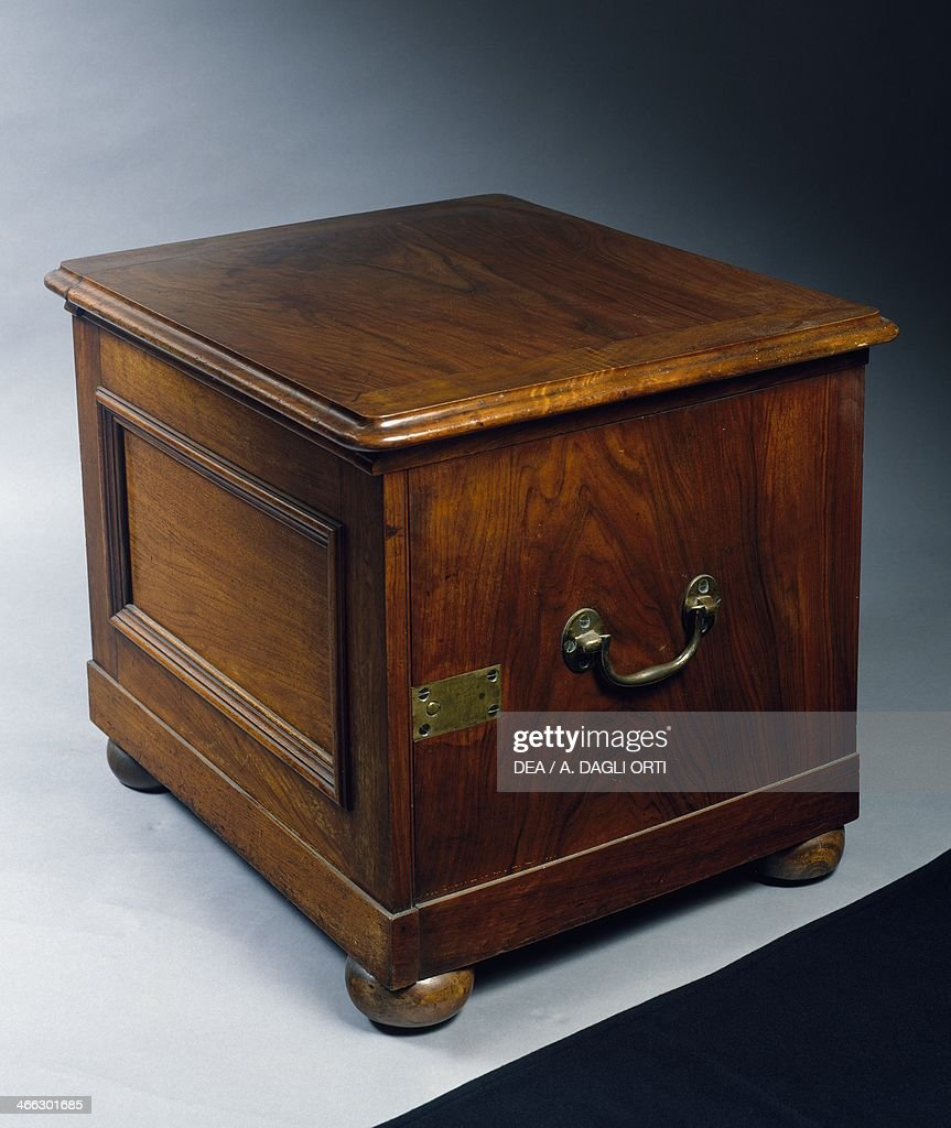 Victorian Indian walnut commode toilet... Pictures | Getty Images