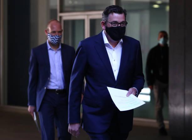 AUS: Premier Daniel Andrews Gives COVID-19 Update