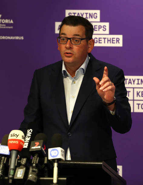 AUS: Premier Daniel Andrews Gives COVID-19 Update As Victoria Records Highest Daily Total Since Start Of Pandemic