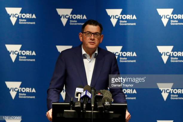 Victorian Premier Daniel Andrews speaks to the media on June 23, 2020 in Melbourne, Australia. Victorian Premier Daniel Andrews has said lockdowns...