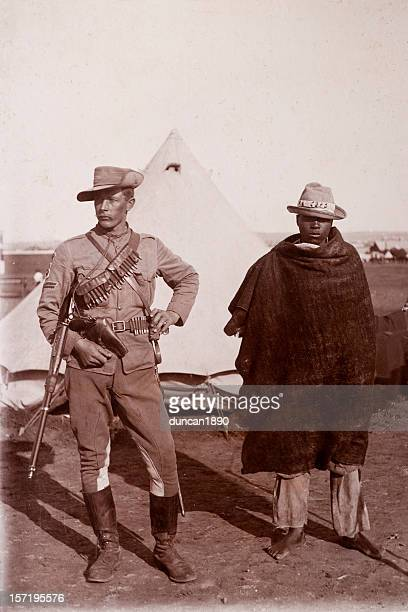 victorian soldier - colonial style stock pictures, royalty-free photos & images