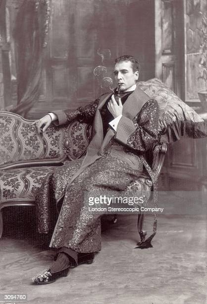 Victorian stage production of Sherlock Holmes