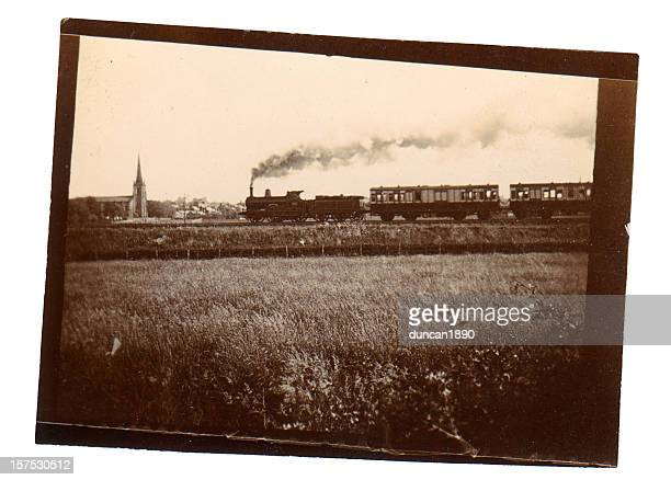 victorian steam train - industrial revolution stock pictures, royalty-free photos & images