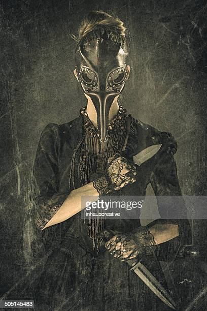 Victorian Steampunk Plague Doctor Assassin
