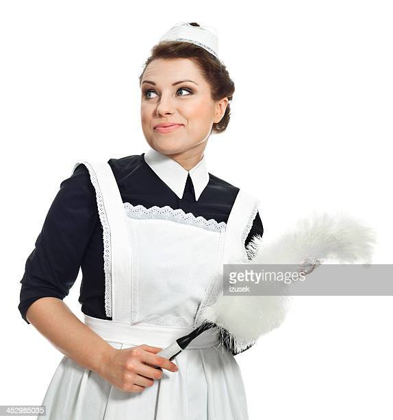 victorian style maid - victorian erotica stock photos and pictures