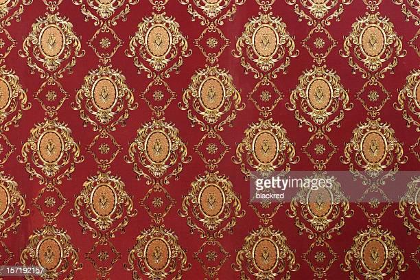 Victorian Style Wallpaper Pattern