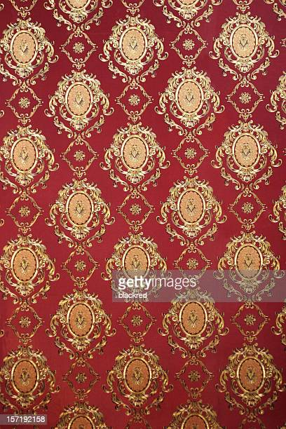 victorian style wallpaper pattern - victorian wallpaper stock pictures, royalty-free photos & images