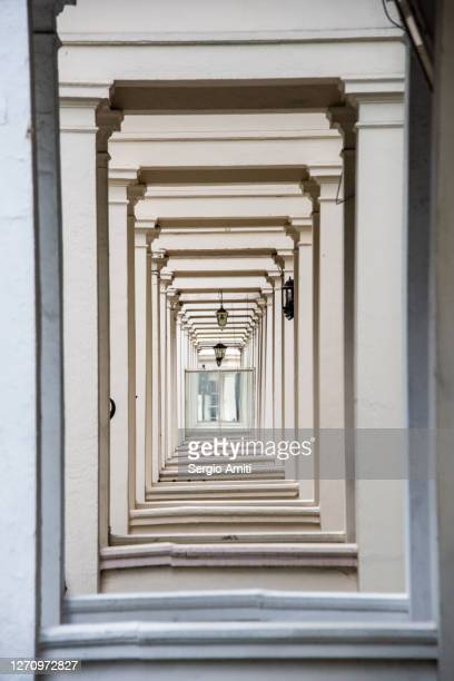 victorian white stucco arched doors - central london stock pictures, royalty-free photos & images