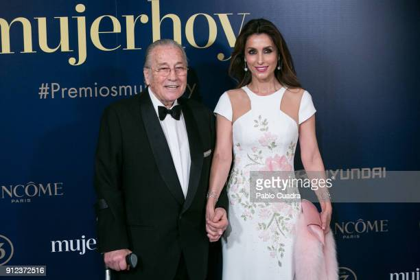 Victoriano Valencia and Paloma Cuevas attend the 'Mujer hoy awards at 'Casino de Madrid' on January 30 2018 in Madrid Spain Victoriano Valencia...