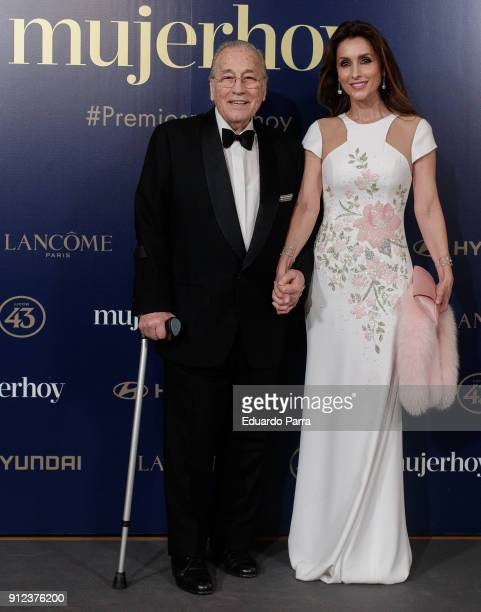 Victoriano Valencia and Paloma Cuevas attends 'VII Premios Mujer Hoy' at Casino on January 30 2018 in Madrid Spain