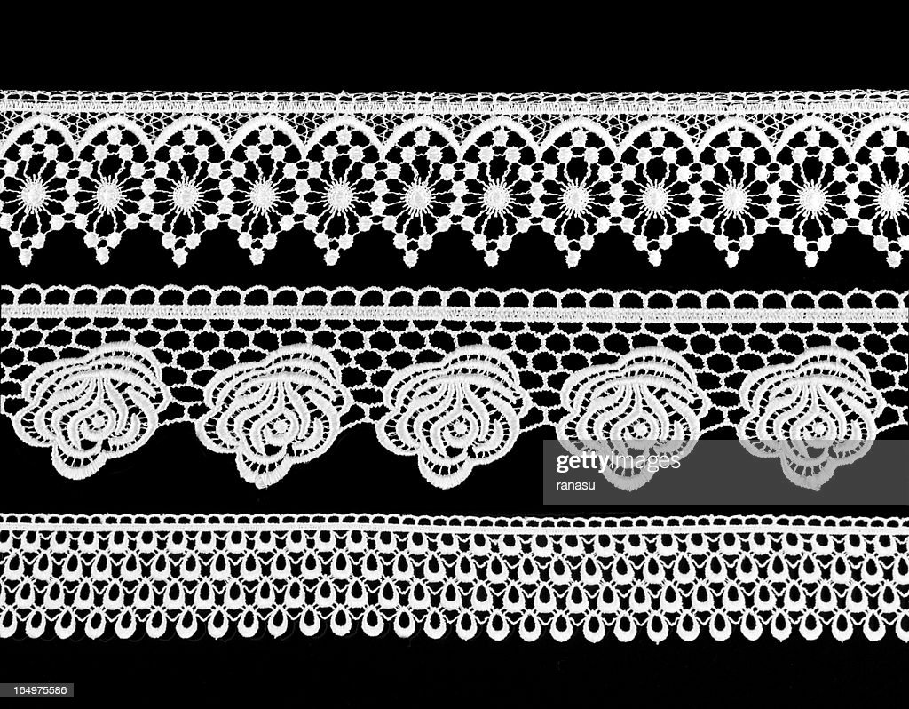 Victorian-style lace : Stock Photo