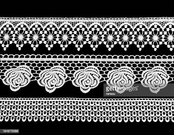 Victorian-style lace