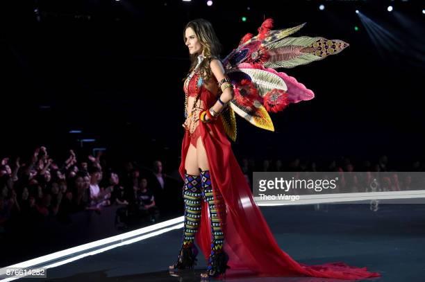 Victoria's Secret Angel Alessandra Ambrosio walks the runway during the 2017 Victoria's Secret Fashion Show In Shanghai at MercedesBenz Arena on...