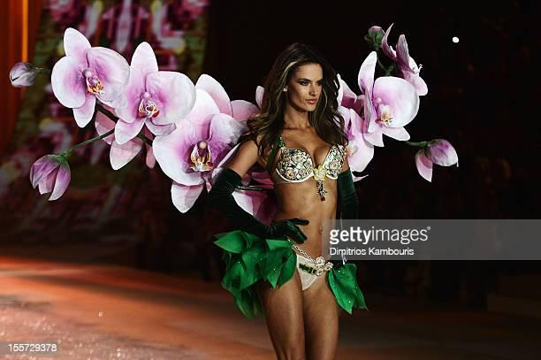 Victoria's Secret Angel Alessandra Ambrosio walks the runway wearing the Victoria's Secret's MillionDollar Fantasy Bra during the 2012 Victoria's...