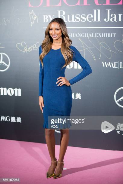 321b21325d813 Victoria s Secret Angel Jasmine Tookes arrives at the red carpet of the  MercedesBenz  Backstage Secrets