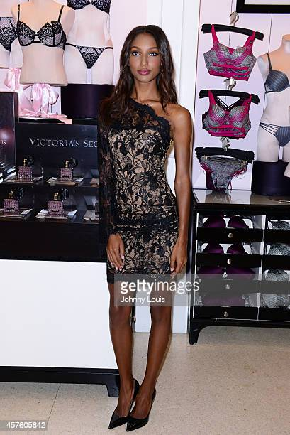 822fe25323478 Victoria s Secret Angel Jasmine Tookes Launches The New Scandalous  Fragrance And Bra Collection at Victoria s Secret
