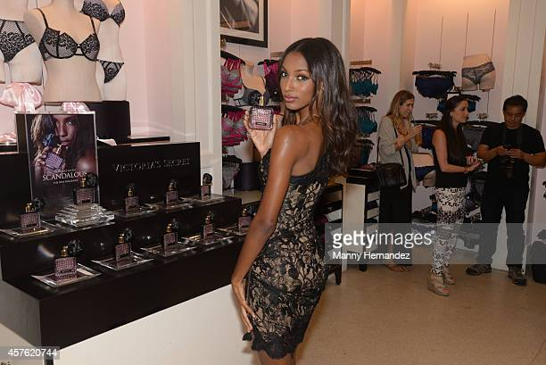 5439a716aa Victoria s Secret Angel Jasmine Tookes launches the new Scandalous  fragrance and bra collection at Victoria s Secret