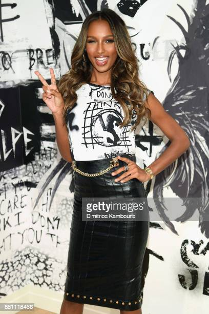 Victoria's Secret Angel Jasmine Tookes shares her favorite VS x BALMAIN looks from the runway and hottest holiday gifts at Victoria's Secret Fifth...