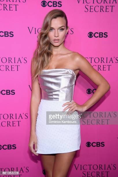 Victoria's Secret Angel Josephine Skriver attends as Victoria's Secret Angels gather for an intimate viewing party of the 2017 Victoria's Secret...