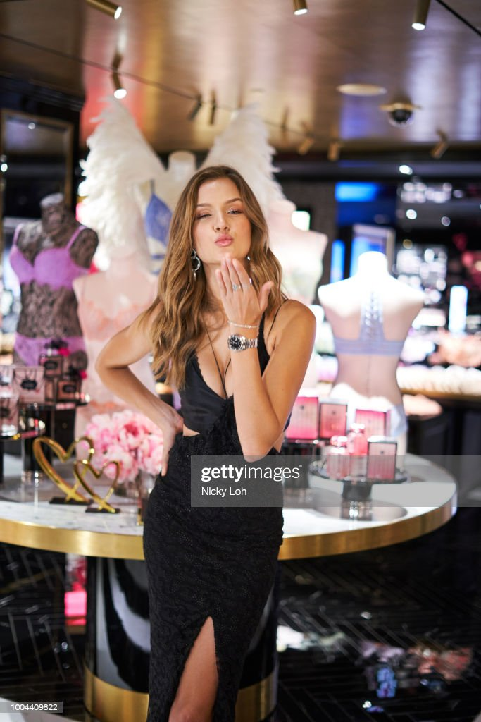 Grand Opening Of Victoria's Secret Hong Kong Flagship Store : News Photo