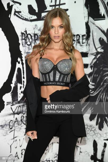 Victoria's Secret Angel Josephine Skriver shares her favorite VS x BALMAIN looks from the runway and hottest holiday gifts at Victoria's Secret Fifth...