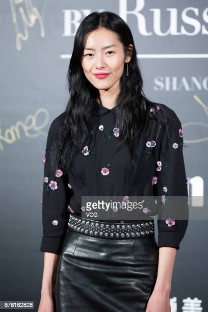 ca2e5355b2564 Victoria s Secret Angel Liu Wen poses at the red carpet of the MercedesBenz   Backstage Secrets